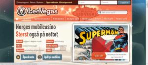 LeoVegas Casino mobil