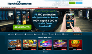 Norske Automater free spins