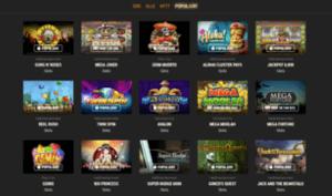 Carat Casino spilleautomater