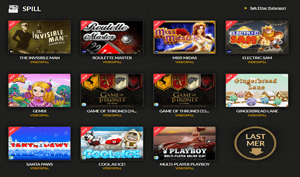 CasinoCruise Spilleautomater