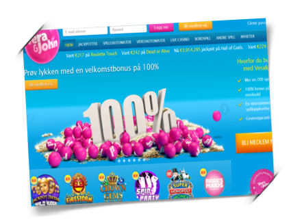 Ingen innskuddsbonus for casino registrering