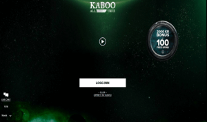 Kaboo Casino nettside