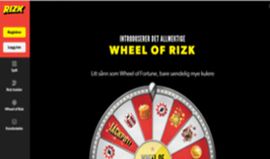 Rizk Casino Wheel of Rizk