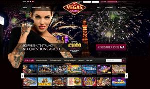 Vegas Casino forside