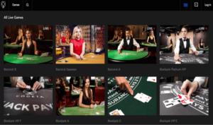 Codeta Casino live casino