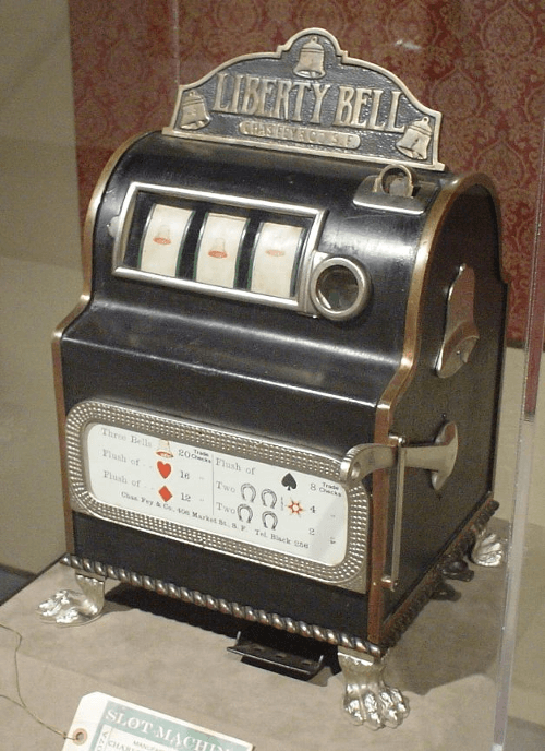gamle spilleautomater